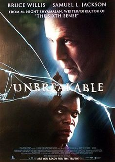 Unbreakable (2000) - A suspense thriller with supernatural overtones that revolves around a man who learns something extraordinary about himself after a devastating accident.
