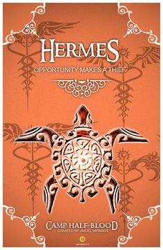 CHB Cabin Poster Hermes by jimuelmaurer26.deviantart.com on @DeviantArt