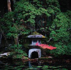 reflective moment at Nanzen-ji temple, located at the base of Kyoto's Higashiyama mountains.
