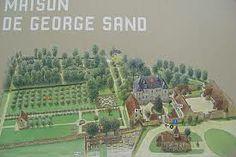 Jardins de la maison de George Sand.