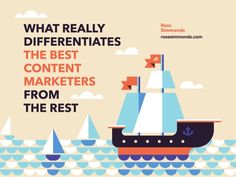 What REALLY Differentiates The Best Content Marketers From The Rest by Ross Simmonds via slideshare