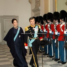 Danish Royals at the New Year reception