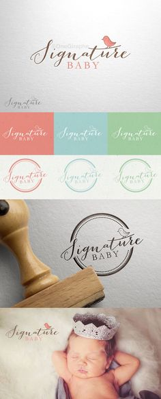 Signature Baby - for SALE!  Order at: onegiraphe@gmail.com Logo ( Black &…