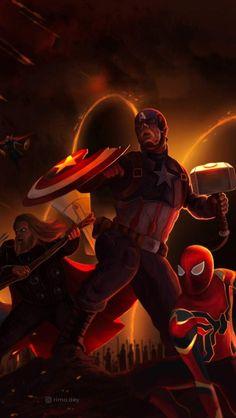 The Avengers Art iPhone Wallpaper M Wallpaper, Free Iphone Wallpaper, Marvel Wallpaper, Iphone Wallpapers, Serie Marvel, Marvel Dc, Marvel Comics, Avengers Earth's Mightiest Heroes, Avengers Art