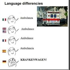 So many different beautiful languages.... And then there is German. Ha ha ha! #myheritage