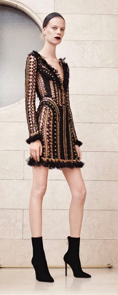 Atelier Versace Fall-winter 2017-2018 - Couture - http://www.orientpalms.com/Atelier-Versace-6843
