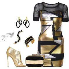"""Girls Night Out!!!"" by pkoff on Polyvore"