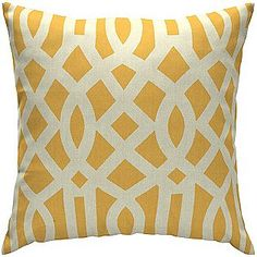 Kmart Yellow Throw Pillowsblue Cushionsoutdoor