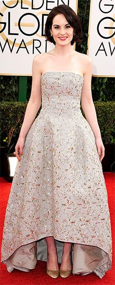 Michelle Dockery: 2014 #GoldenGlobes