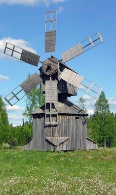An old magpie mill built in 1828 in Kurjenkylä!!!