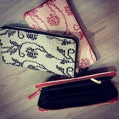 portafoglio in tessuto artigianale sardo - Chiara Derosas Design