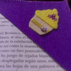 DIY marcador de libros, bookmark cupcakes