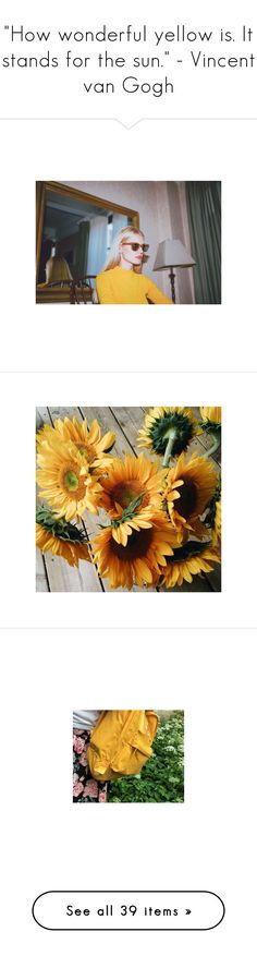 """""""""""How wonderful yellow is. It stands for the sun."""" - Vincent van Gogh"""" by tamara-xox ❤ liked on Polyvore featuring yellow, images, NIKE, Illesteva, casual, ootd, grey, nike, pictures and photos"""