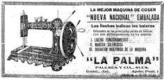 1926 - Máquina de Coser - Anuncio publicado en el Informador Guadalajara, Jalisco México