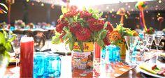 Decora tu mesa con latas - Blog de bodas de Una Boda Original