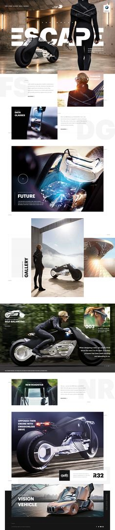 Bmw motorrad vision next 100 website full hellowiktor