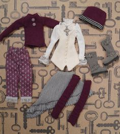 Monster High doll CUSTOM made OOAK Clothing All items Boots