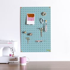 Wooden Pegboards, Pegboard accessories and Wire Mesh Memo Boards, in various colours and sizes from Block Design in the UK. Large Pegboard, Wooden Pegboard, Painted Pegboard, Wooden Pegs, Kitchen Pegboard, Ikea Pegboard, Quirky Decor, Style Deco, Red Candy
