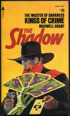 The Shadow 11 - Kings of Crime - Steranko cover