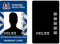 "All police officers will carry a new warrant card with enhanced security features from 1 March to prevent identity fraud by police imposters.  When the warrant card is tilted at an angle, it will show the holographic word ""POLICE"" below an officer's photograph.  If members of the public are approached"