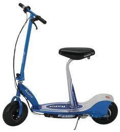 Razor Seated Electric Scooter (Blue, 41 x 17 x Best Scooter, Scooter Bike, Kids Scooter, Scooter Parts, Cheap Electric Scooters, Electric Scooter With Seat, Scooters For Sale, Motor Scooters, Pro Scooters
