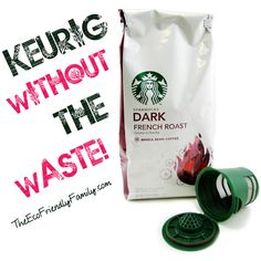 Keurig Coffee with the Waste