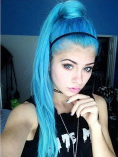 Inspiring Pastel Hair Color Ideas – My hair and beauty Dyed Hair Ombre, Dyed Blonde Hair, Blonde Ombre, Green Hair, Purple Hair, Hair Dye Colors, Hair Color, Permanent Hair Dye, Coloured Hair