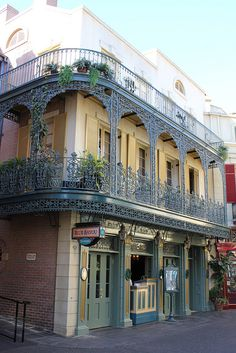 The original Blue Bayou Restaurant at Disneyland sits at 31 Royal Street in New Orleans Square.