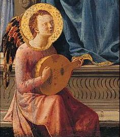 Masaccio, Virgin & Child, detail,  1426, National Gallery, London