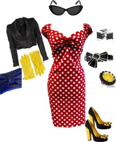 """""""Minnie inspired"""" by tiffany-greenough-wilson on Polyvore"""