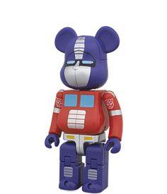 BE@RBRICK TRANSFORMERS NEMESIS PRIME MEDICOM TOY Bear Brick Import Japan^