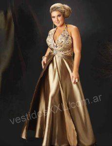 Vestido para Fiesta talles especiales Ropa Para Señoras 73ba9039d015