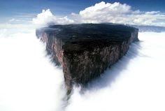 Monte Roraima Os 24 lugares mais incríveis e surreais que existem no planeta Terra