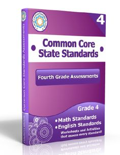 Description: Fourth Grade Assessment Workbook, 4th Grade Assessment Workbook, Fourth Grade Common Core Assessment Workbook, 4th Grade Common...