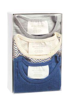 Pack de 3 bodys de manga larga | H&M
