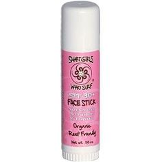 Smart Girls Who Surf Face Stick SPF30+ 0.56 oz by Smart Girls Who Surf. $15.70. Organic & Reef Friendly. No Chemicals, Fragrence, or Paraben. Clean Screen Natural Sun Care UVA & UVB Protection Water & Sweat Resistant Won't Sting Your Eyes Surfer Tested Biodegradable
