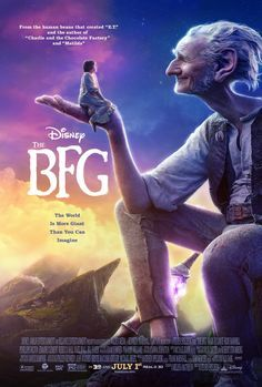 The BFG - the movie was good, although the book was better...