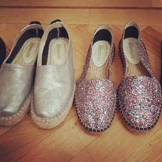 #madeinspain #glitershoed #shoeslover #alpargatas