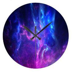 Amethyst Dreams Large Clock