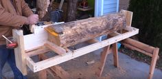 Facebook Twitter Google+ Pinterest LinkedIn Have you ever considered building your own sawmill? It would be a useful addition to have if you find yourself regularly working with large blocks of wood. In the video below, Izzy Swan shows you how easy it is to do. And best of all it shouldn't take any longer …