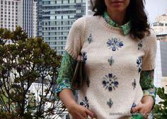Springing Into Fall - J. Crew Jeweled Sweater