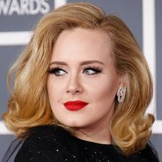 Adele (loved her hair & makeup at the Grammy Awards).