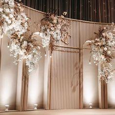 Wedding Backdrop Design, Wedding Reception Design, Wedding Reception Backdrop, Wedding Mandap, Outdoor Wedding Decorations, Backdrop Decorations, Backdrops, Outdoor Weddings, Wedding Receptions