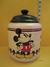 I HAVE THIS MICKEY  COOKIE JAR      MICKEY AND MINNIE MOUSE COOKIE JAR