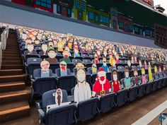 1,800 South Park Cut-Outs Spread Across Five Sections at Broncos Game During the COVID-19 Pandemic Denver Broncos Game, Go Broncos, Eric Cartman, Tom Brady, Nfl, South Park Characters, Tampa Bay Buccaneers, Comedy Central, Espn