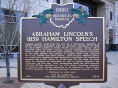 Where to find any historical marker in the state of Ohio.- Something to do on the weekends when traveling for work :)