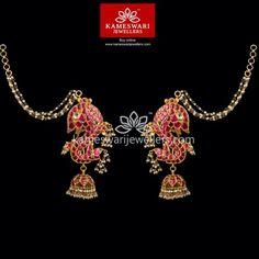 Gold Mangalsutra Designs, Gold Earrings Designs, Necklace Designs, Buy Earrings, Earrings Online, Hoop Earrings, Ear Cuff Jewelry, Gold Jewellery, Silver Jewelry
