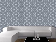 Casablanca allover wallpaper. It is super easy for installation, just peel and stick no paste required. This self-adhesive wallpaper is much better