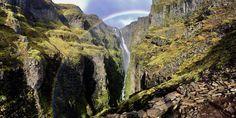 First time posting! Glymur Falls Iceland [OC] (5637 2838) http://ift.tt/2yM75i4