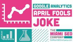 All about Google's 2013 April Fool's Joke on Google Analytics. #SEO #InternetMarketing #Jokes